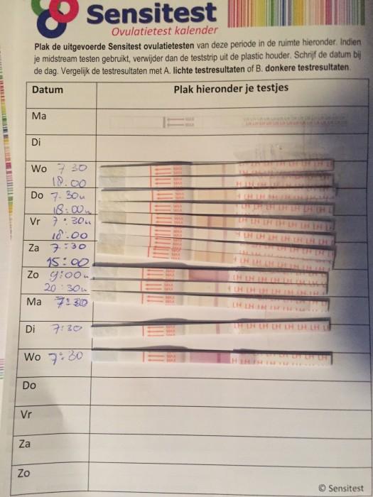 Goede Testen En Dankzij Het Kalendertje Is Het Heel Goed Bij Te